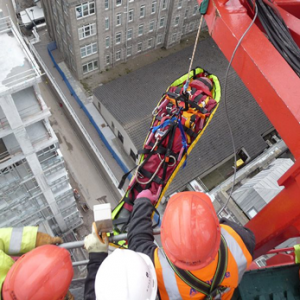 Rescue from Tower Cranes